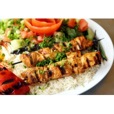 Chicken Plate Kebab
