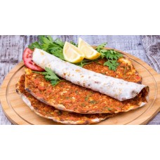 Lahmacun (Turkish Ground Beef Pizza)