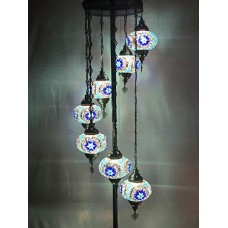 Ottoman Standing Side Lamp (7 Glasses)